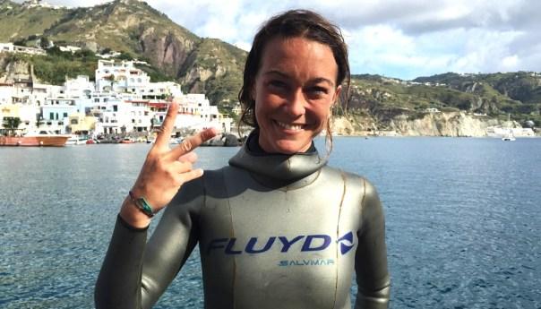 A Ischia i Mondiali di Apnea, due gli italiani sul podio