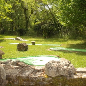 Mini-Golf Camping Tarn Nature