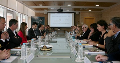 UCA and CEI·MAR meet in Cadiz with the Commission of Industry, Telecommunications, Research and Energy of the European Parliament