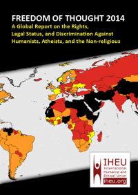 Cover of the 2014 Freedom of Thought report.