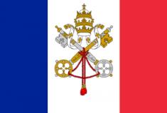 vaticanandfrenchflag