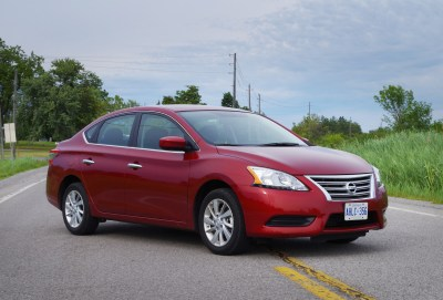 Review: 2015 Nissan Sentra SV | Canadian Auto Review