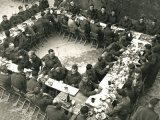The Seaforth Highlanders ate their Christmas dinner and went back to fighting. PA152839.