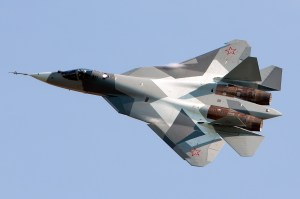 Russia's Sukhoi PAK FA T-50 'fifth generation' fighter.