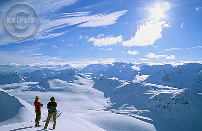 The Canadian Rockies offer a true winter wonderland to adventure seekers.