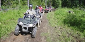 ATV Tour in Banff Alberta with Banff Travel