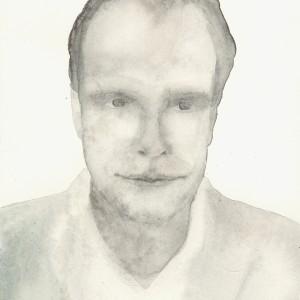 Hans Ulrich Obrist, portrait by Virginia Zanetti, courtesy postmedia books