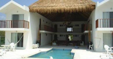 Casa de los Angeles Puerto Morelos