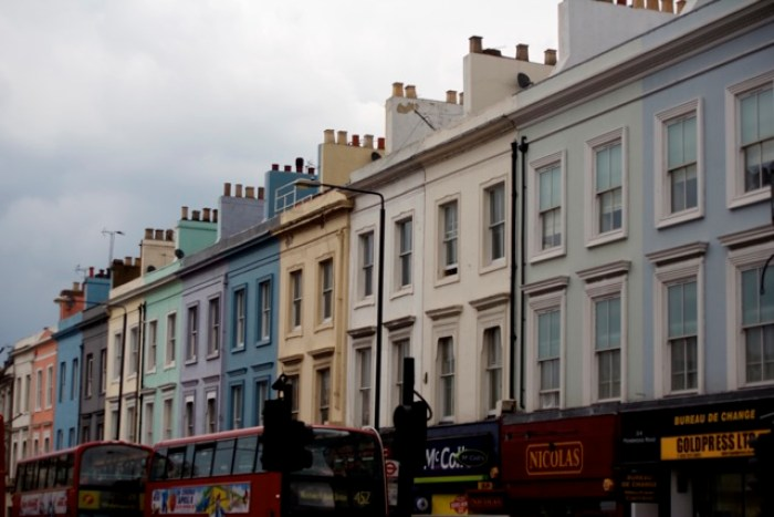 Portobello Market's pastel flats