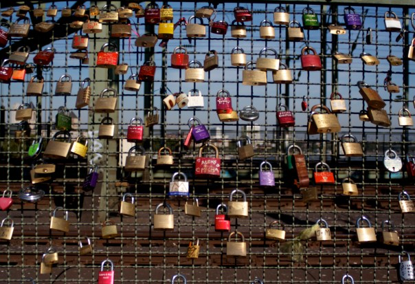 Bridge in Cologne with Locks