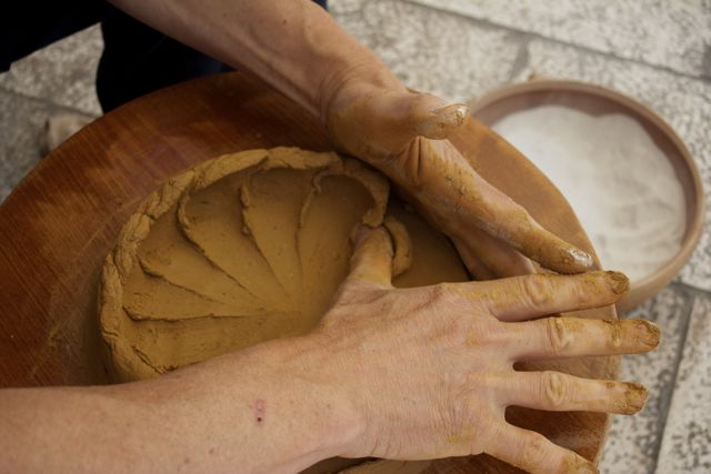 photo friday: meeting pepi the potter in zadar, croatia.