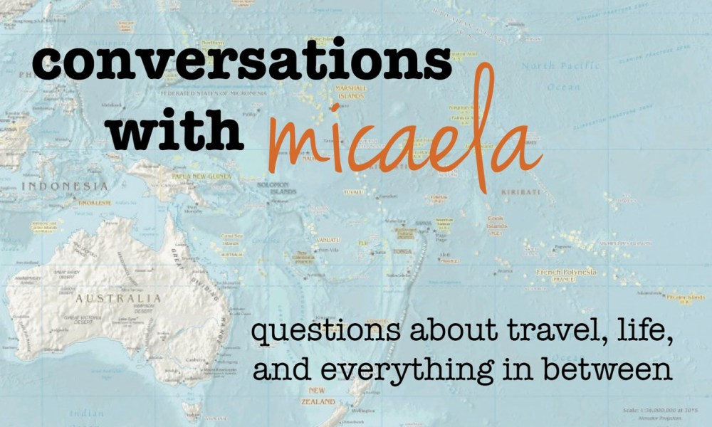 conversations with micaela, part 4: how do you remember places?