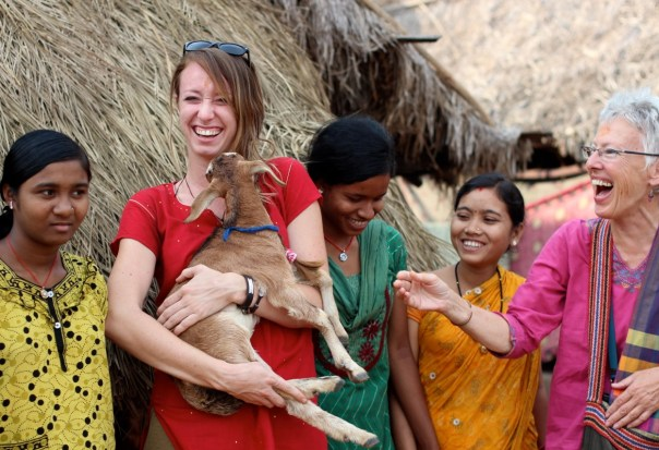 Giving thanks in India