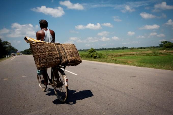 Driving in Assam