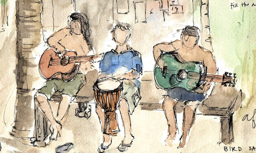 Sketching Indonesia: On music and the magic of connection.