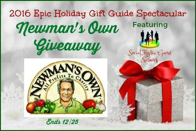 #SMGN #Giveaway Newman's Own Ends 12/25