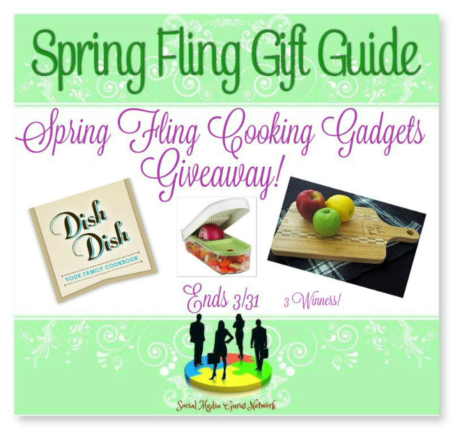 Spring Fling Cooking Gadgets #Giveaway Ends 3/31 3 Winner! #SMGN