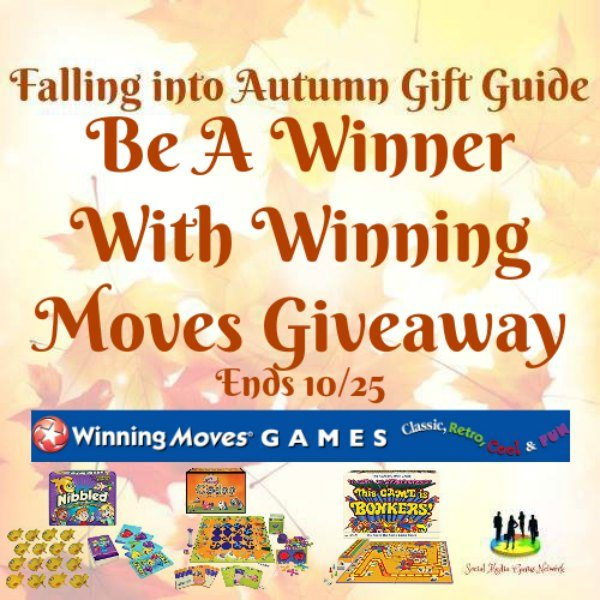 Be a Winner With Winning Moves #Giveaway Ends 10/25