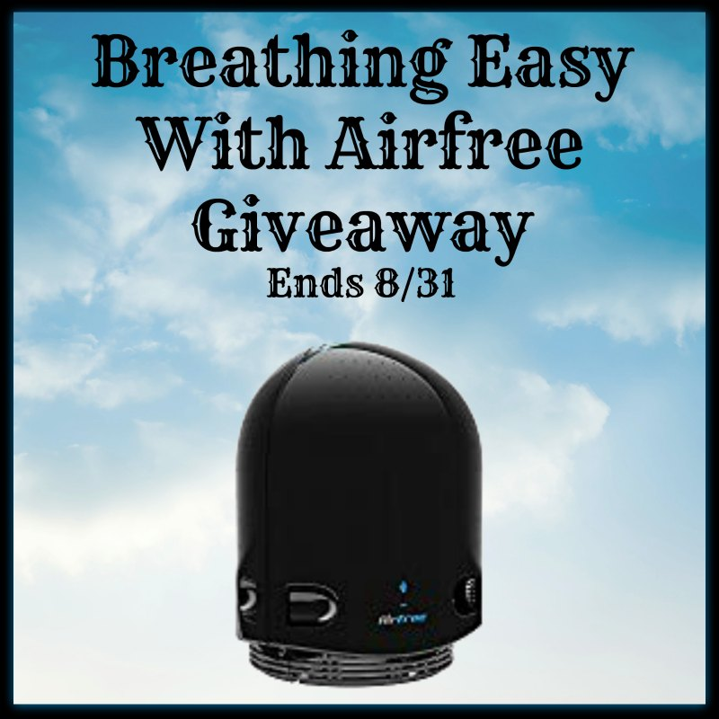 Breathing Easy with @Airfree #Giveaway Ends 8/31 via @SMGurusNetwork