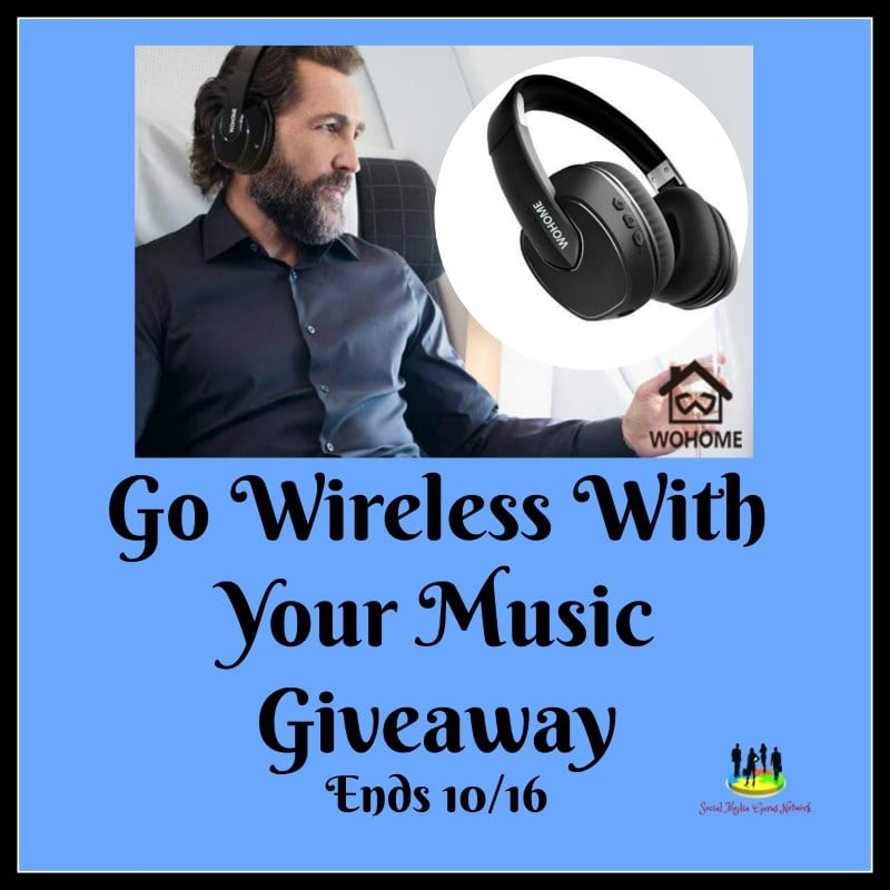 Go Wireless With Your Music #Giveaway Ends 10/16