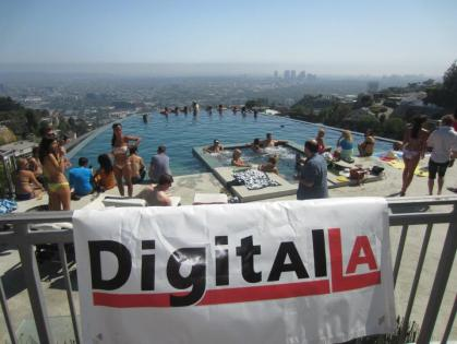 Digital LA's Summer Pool Party 2012