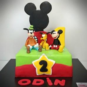 Mickey Cake Mickey Mouse Cake Goofy Cake