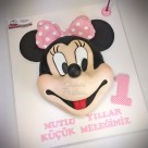 Minnie Mouse Cake Mini pasta mini maus