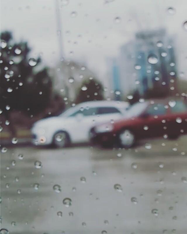In a rainy day Ankara