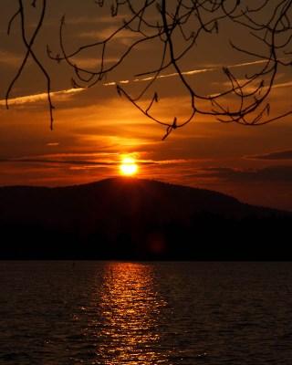 Non-Starry Sunset
