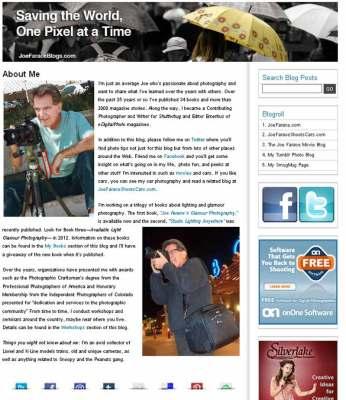 Joe Farace Blog