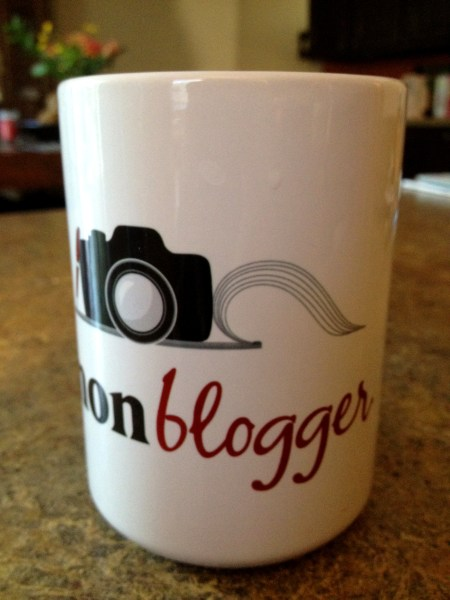 Canon Blogger Coffee Mug
