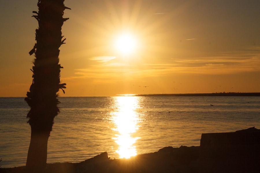 Wordy Wednesday #29: Sunrise on the Salton Sea