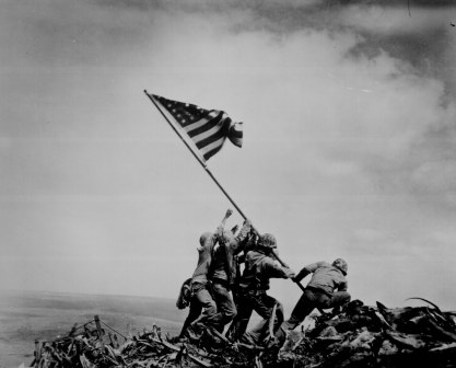 Raising the Flag at Iwo Jima