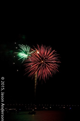 Fireworks photography shooting sample 1