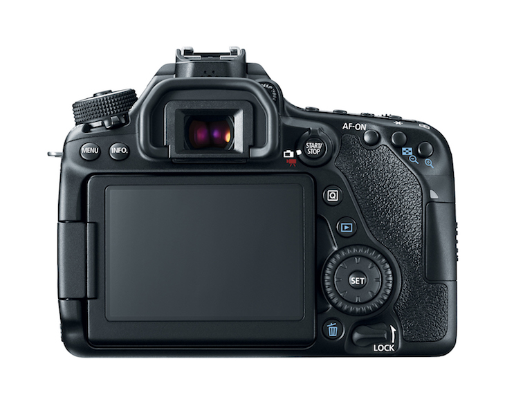 Eos80d Back Lcd