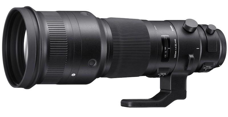 Sigma 500mm F4 DG OS HSM