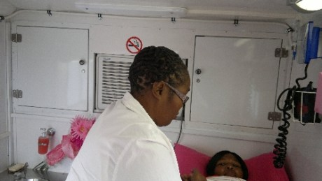 CANSA Mobile Unit at Port Shepstone 01