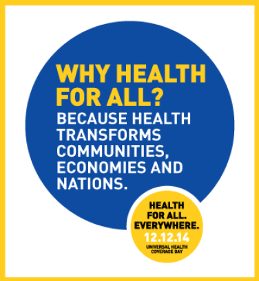 Health transforms communities, economies, nations