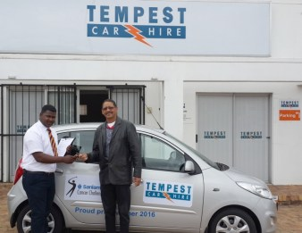 Tempest Win a car for a year competition 20151013 HANDOVER 04