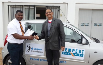 Tempest Win a car for a year competition 20151013 HANDOVER 05