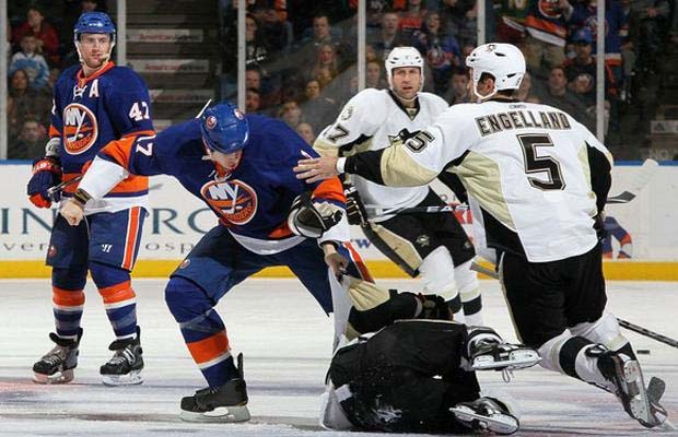 Matt Martin, New York Islanders, Max Talbot, Pittsburgh Penguins