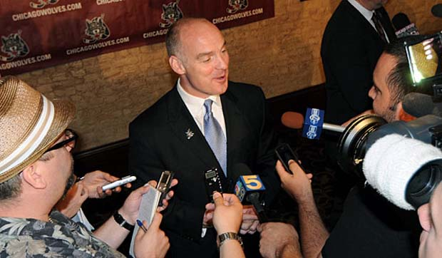 Chicago Wolves GM Wendell Young