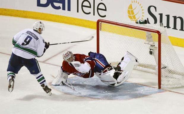 Cody Hodgson, Vancouver Canucks
