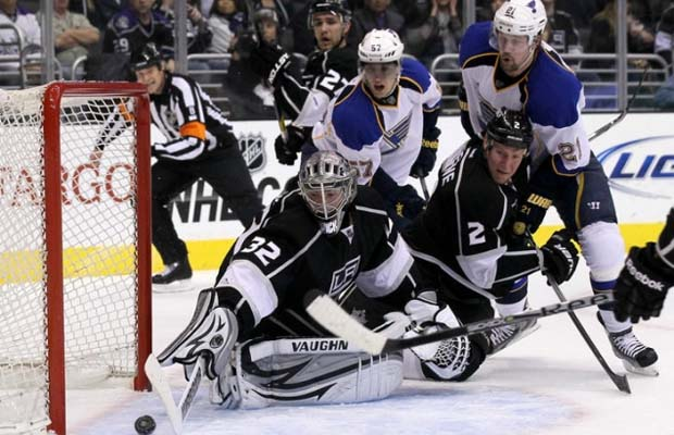 Jonathan Quick, Los Angeles Kings, St. Louis Blues