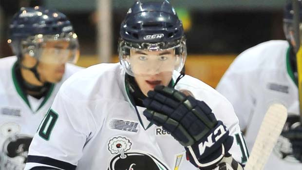 Tom Wilson, Plymouth Whalers, NHL Entry Draft 2012