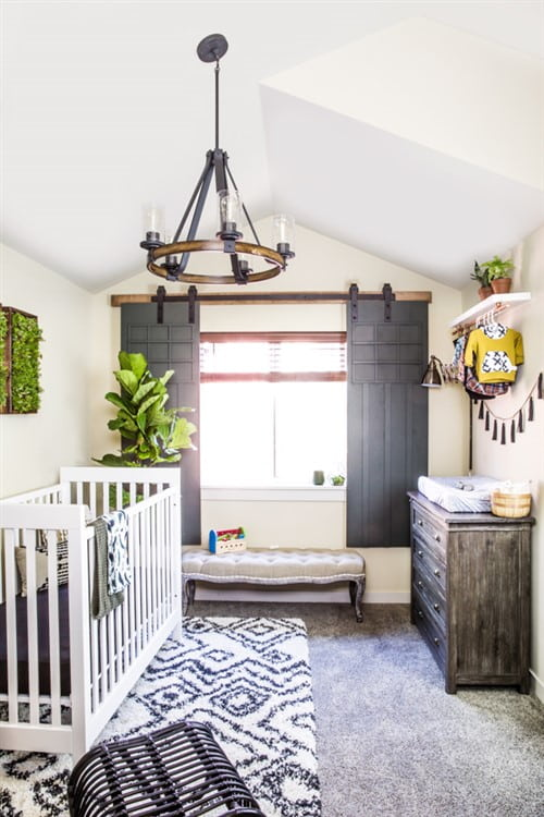 12 Cute As Pie Baby Boy Nursery Decorating Ideas   Canvas Factory Baby Boy Nursery Decorating Ideas   Rustic Elegance