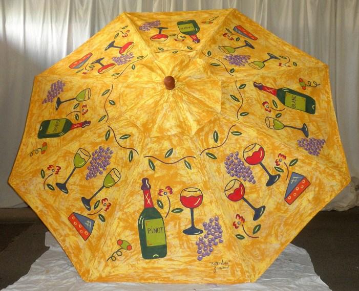 Bella Vino Market Umbrella