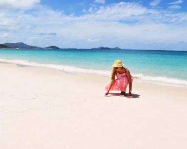 Australia Whitsunday Islands Whitehaven Beach