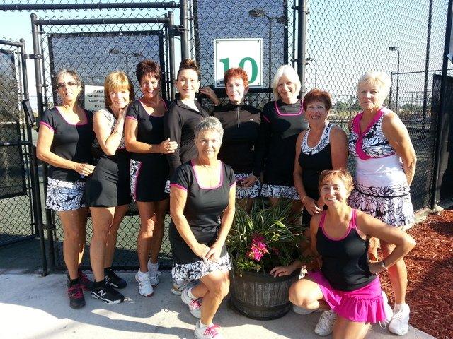 Cape Coral Racquet Club Womens Team