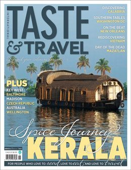 Taste & Travel, and a Spice Trip to Kerala
